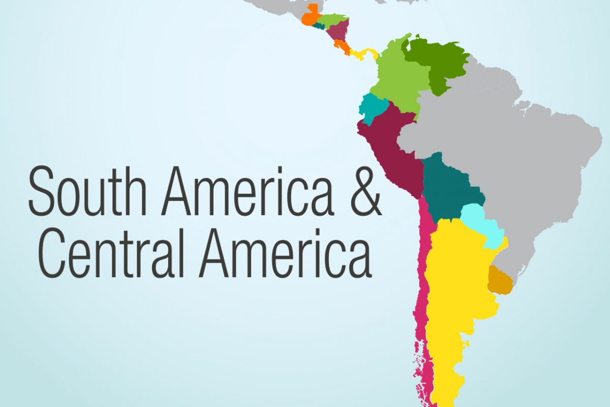 South America Region Map Herbalife Nutrition